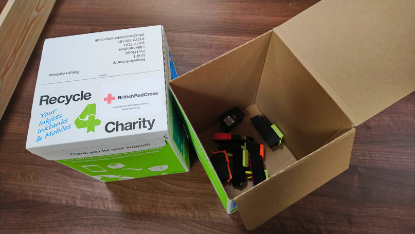 Recycling Ink Cartridges for Charity