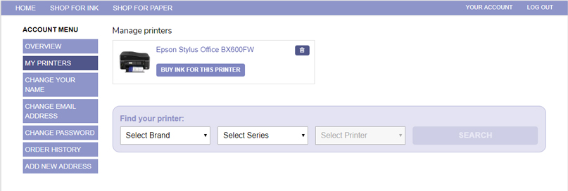 manage your printers