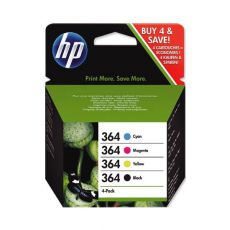 No. 364 Black and Colour Inkjet Multipack