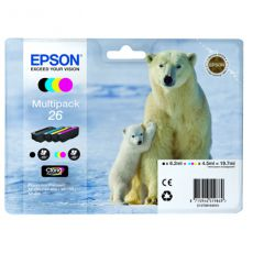 T2616 Multipack Printer Ink Cartridge (Polar Bear)