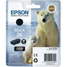 T2601 Black Ink Cartridge (Polar Bear)