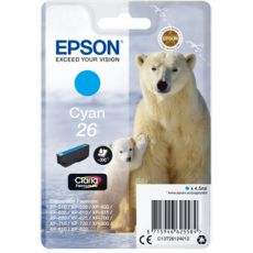 T2612 Cyan Ink Cartridge (Polar Bear)