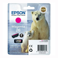 T2613 Magenta Ink Cartridge (Polar Bear)