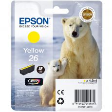 T2614 Yellow Ink Cartridge (Polar Bear)