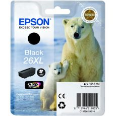 T2621 Black XL Ink Cartridge (Polar Bear)