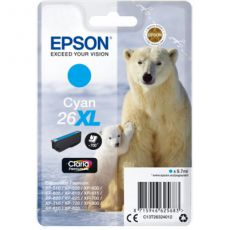 T2632 Cyan XL Ink Cartridge (Polar Bear)
