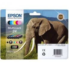 T2428 Multipack Printer Ink Cartridge (Elephant)