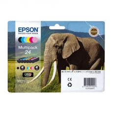 T2438 XL Multipack Printer Ink Cartridge (Elephant)