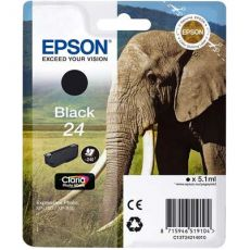T2421 Black Ink Cartridge (Elephant)