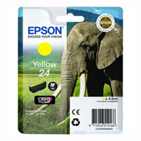 T2424 Yellow Ink Cartridge (Elephant)