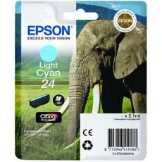 T2425 Light Cyan Ink Cartridge (Elephant)