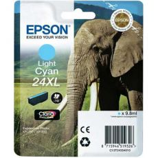 T2435 Light Cyan XL Ink Cartridge (Elephant)