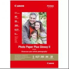 A4 Photo Paper Plus Glossy II 260gsm (20)