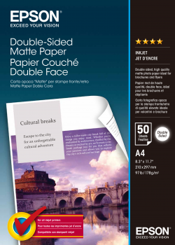 A4 Double Sided Matte Paper 50 Sheets