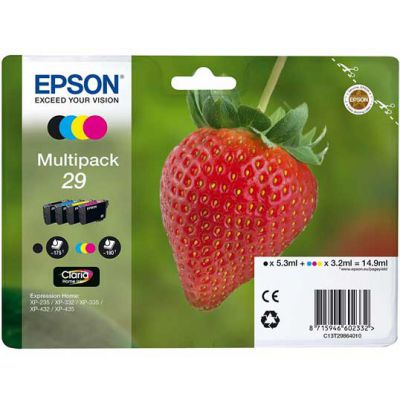 T2986 Multipack Printer Ink Cartridge (Strawberry)