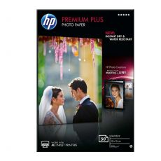 Premium Plus Glossy Snapshot Photo Paper 10 x 15cm (50 Sheets)
