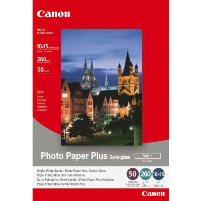 10cm x 15cm Semi-Gloss Photo Paper 260gsm (50)